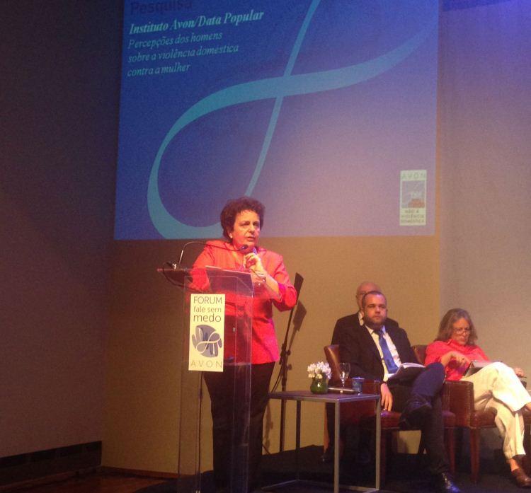 Ministra Eleonora Menicucci, da Secretaria de Políticas para as Mulheres da Presidência da República (Foto: MPSP)
