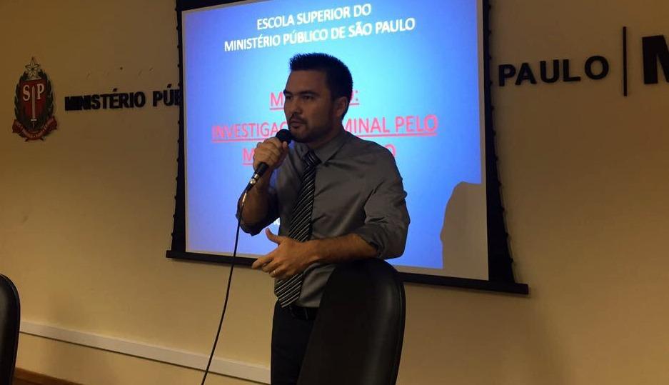 Promotor de justiça Flávio Okamoto