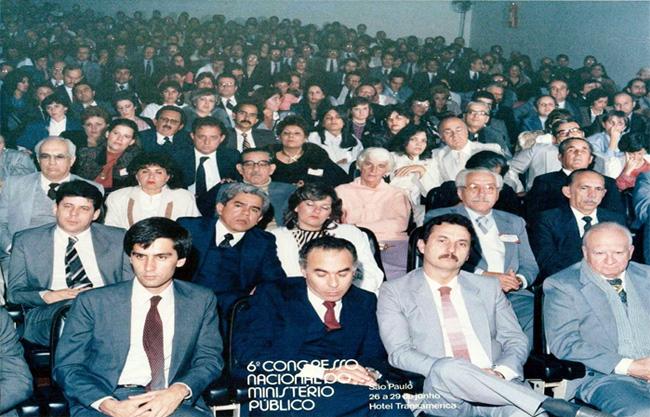 Fotografia do 6° Congresso Nacional do Ministério Público
